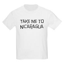 Take me to Nicaragua T-Shirt