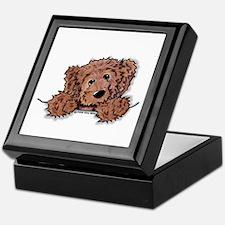 Choc. Doodle Pocket Pup Keepsake Box