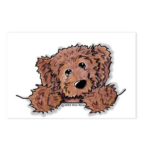 Choc. Doodle Pocket Pup Postcards (Package of 8)