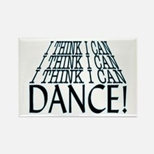 I Can Dance Rectangle Magnet