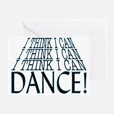 I Can Dance Greeting Card