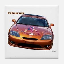 Tiburon Fr Tile Coaster