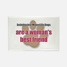 Entlebucher Mountain Dogs woman's best friend Rect
