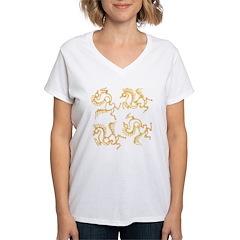 Golden Horses Batik Shirt