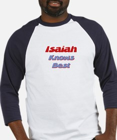 Isaiah Knows Best Baseball Jersey