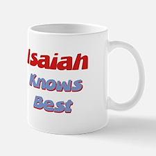 Isaiah Knows Best Mug