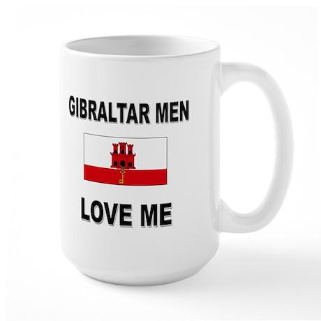 Gibraltar Men Love Me Large Mug