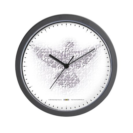 MultiFaith Dove Wall Clock