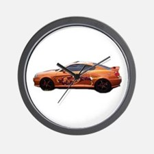 Tiburon Si Wall Clock