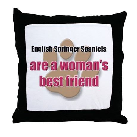 English Springer Spaniels woman's best friend Thro