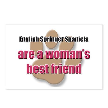 English Springer Spaniels woman's best friend Post