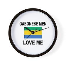Gabonese Men Love Me Wall Clock
