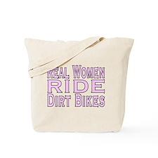 Women Ride Bikes Tote Bag
