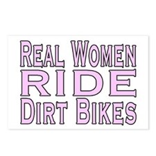 Women Ride Bikes Postcards (Package of 8)