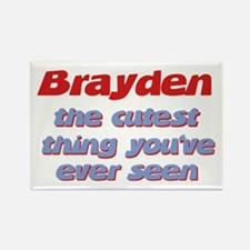 Brayden - The Cutest Ever Rectangle Magnet