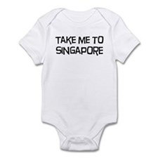 Take me to Singapore Infant Bodysuit