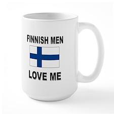 Finnish Men Love Me Mug