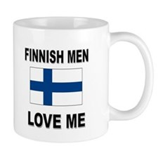 Finnish Men Love Me Mug