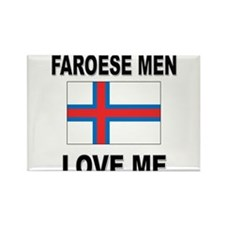 Faroese Men Love Me Rectangle Magnet