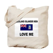 Falkland Islander Men Love Me Tote Bag