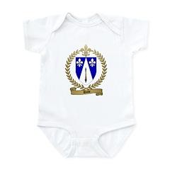 DUBE Family Crest Infant Creeper