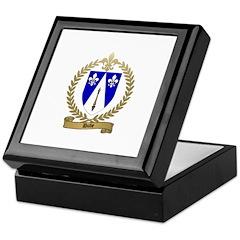 DUBE Family Crest Keepsake Box