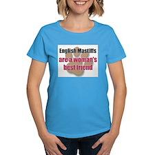 English Mastiffs woman's best friend Tee