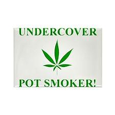 Undercover Pot Smoker Rectangle Magnet