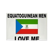 Equatoguinean Men Love Me Rectangle Magnet
