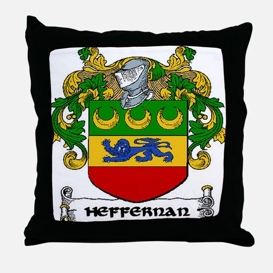Heffernan Arms Throw Pillow