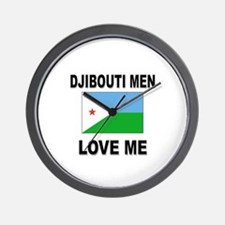 Djibouti Men Love Me Wall Clock