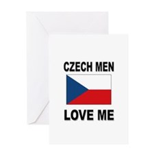 Czech Men Love Me Greeting Card