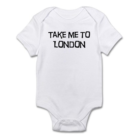 Take me to London Infant Bodysuit