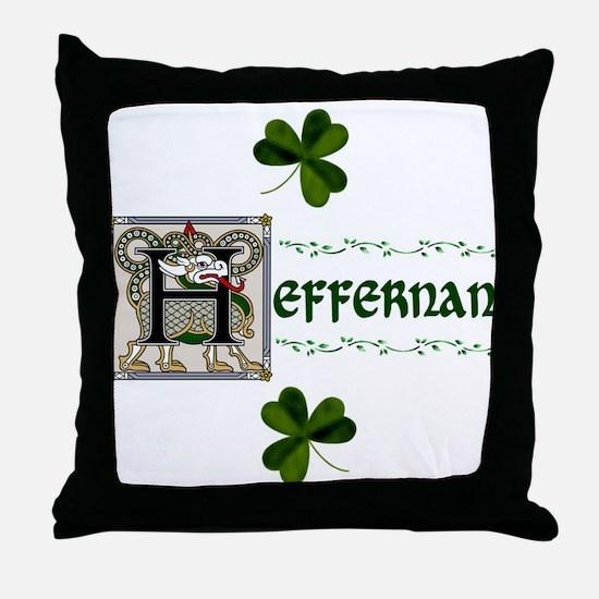 Heffernan Celtic Dragon Throw Pillow