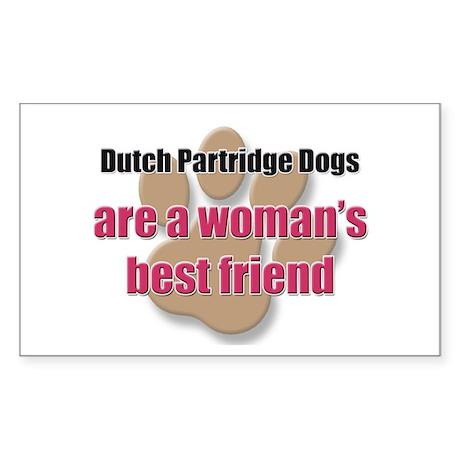 Dutch Partridge Dogs woman's best friend Sticker (