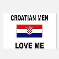 Croatian Men Love Me Postcards (Package of 8)