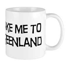 Take me to Greenland Mug