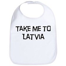 Take me to Latvia Bib