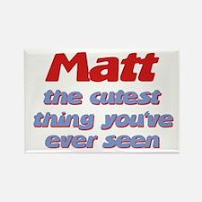 Matt - The Cutest Ever Rectangle Magnet