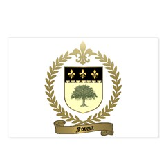 FOREST Family Crest Postcards (Package of 8)