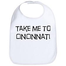 Take me to Cincinnati Bib