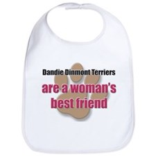 Dandie Dinmont Terriers woman's best friend Bib