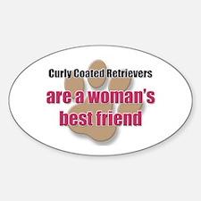 Curly Coated Retrievers woman's best friend Sticke