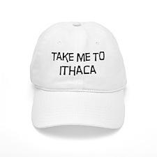 Take me to Ithaca Baseball Cap