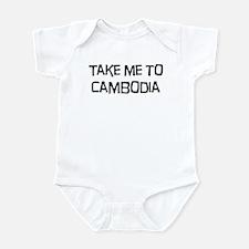 Take me to Cambodia Infant Bodysuit