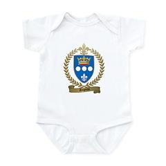 DUPUIS Family Crest Infant Creeper