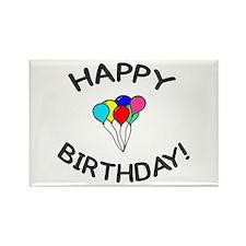'Happy Birthday!' Rectangle Magnet