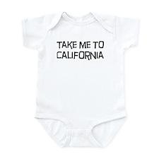 Take me to California Infant Bodysuit