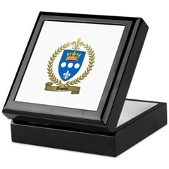 DUPUIS Family Crest Keepsake Box