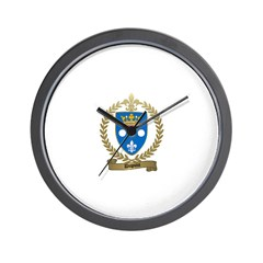 DUPUIS Family Crest Wall Clock